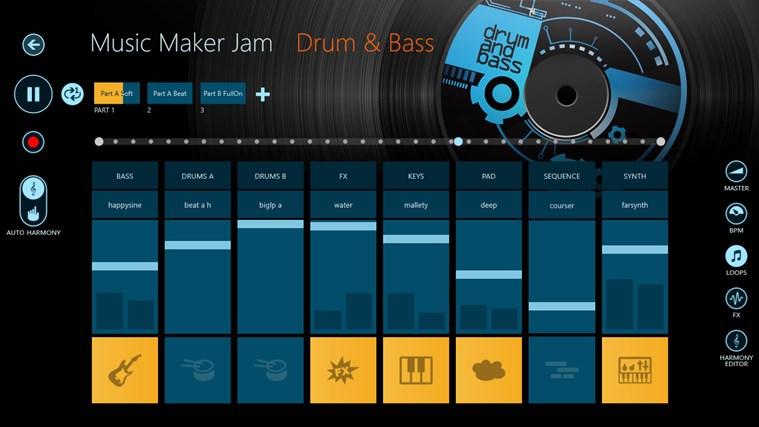 Pantallazo Magix Music Maker Jam
