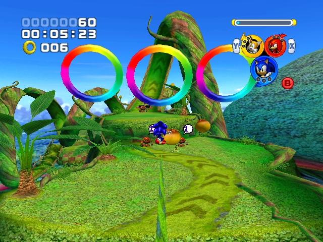Pantallazo Sonic Heroes