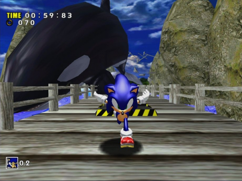 Pantallazo Sonic Adventure DX
