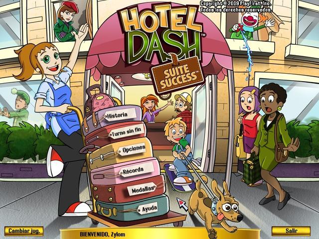 Pantallazo Hotel Dash