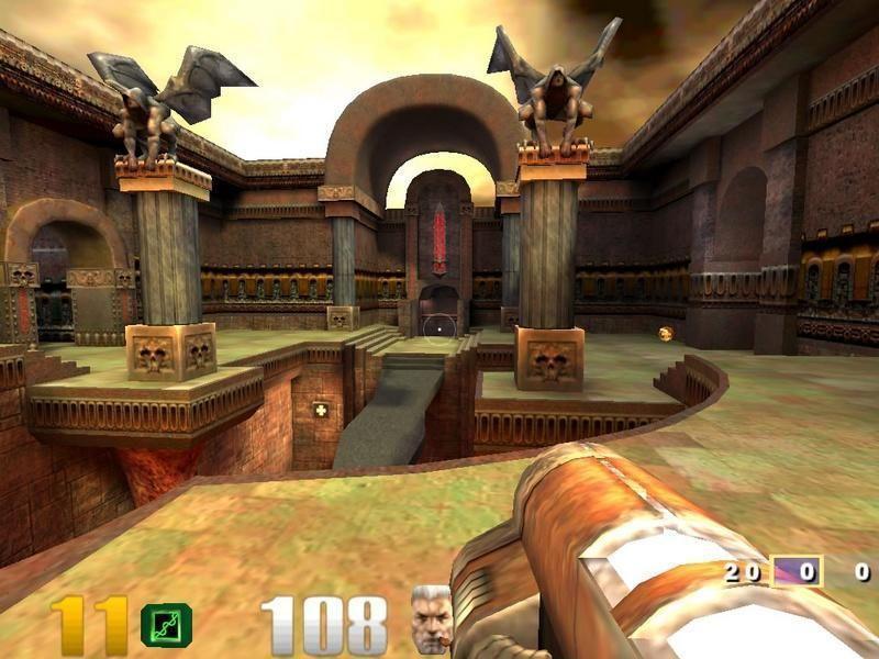 Pantallazo Quake 3 Arena