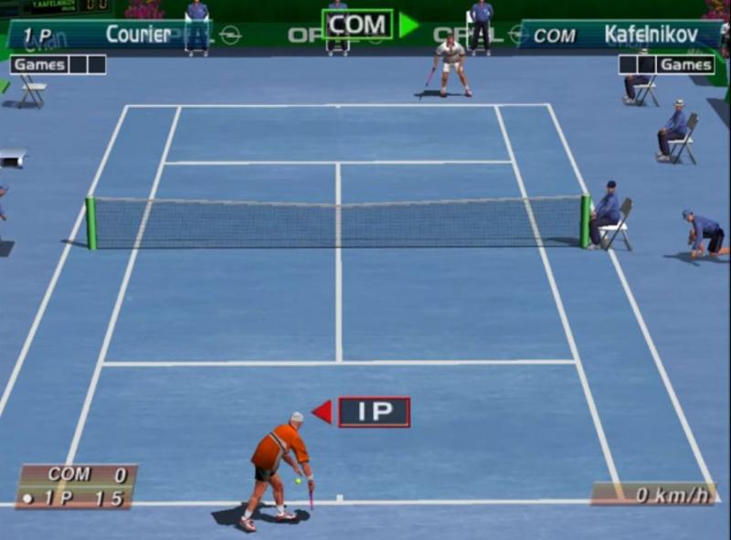 Pantallazo Virtua Tennis