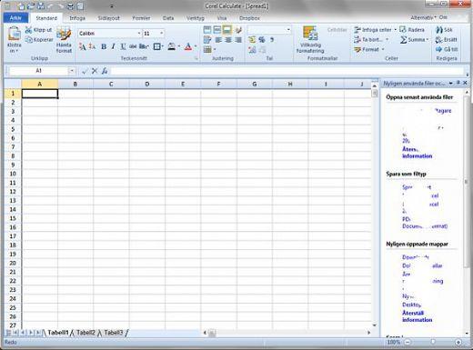 Pantallazo WordPerfect Office Suite