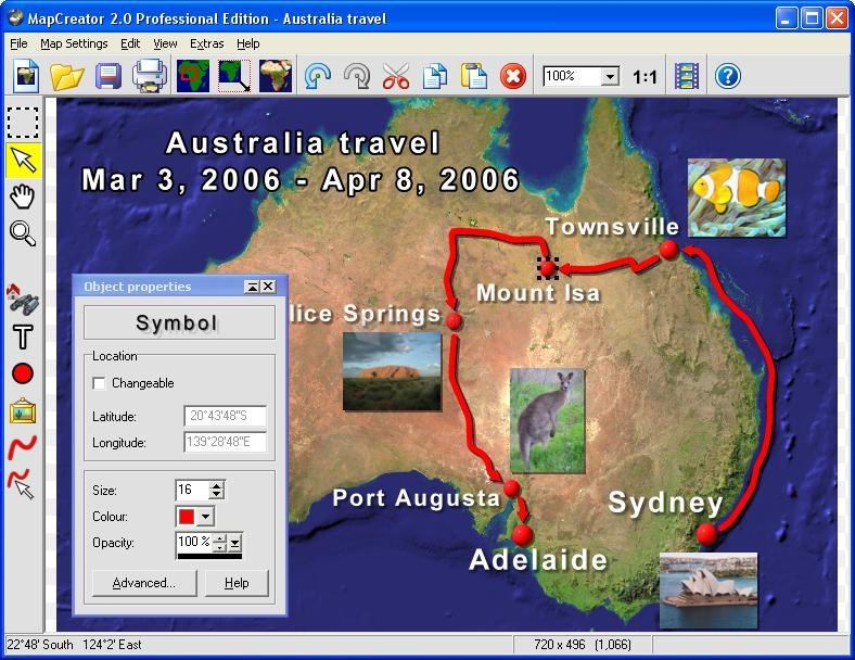 Pantallazo MapCreator Free Edition