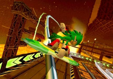 Pantallazo Sonic Riders