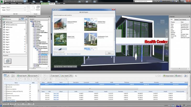 Pantallazo Autodesk Navisworks