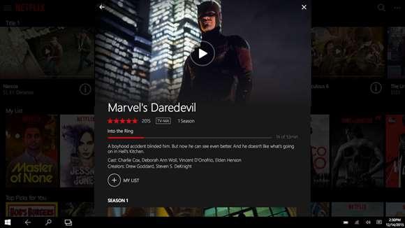 Pantallazo Netflix