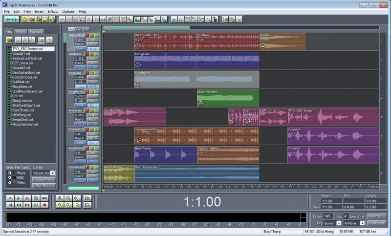 Editor de Audio Windows
