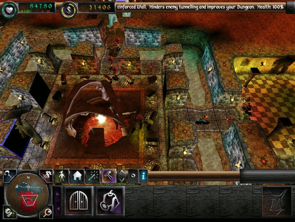 Pantallazo Dungeon Keeper 2