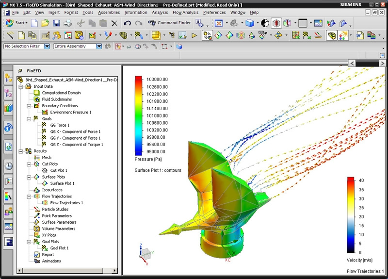 Pantallazo Siemens NX 10