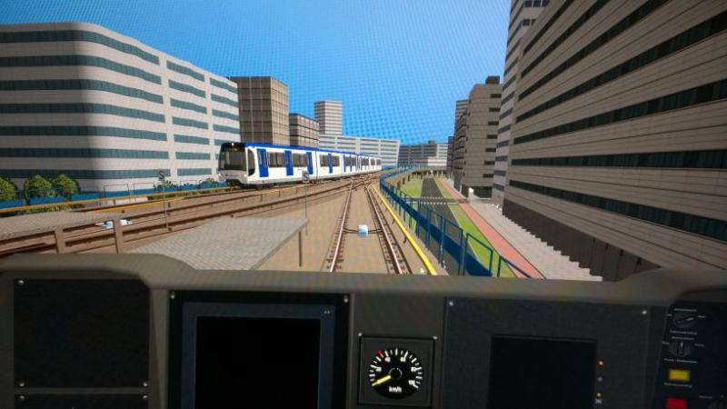 Pantallazo Metro Simulator