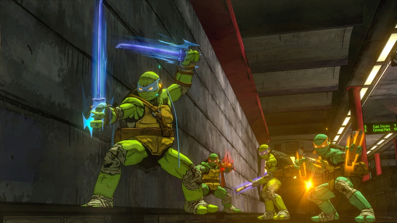 Pantallazo Teenage Mutant Ninja Turtles: Mutants in Manhattan