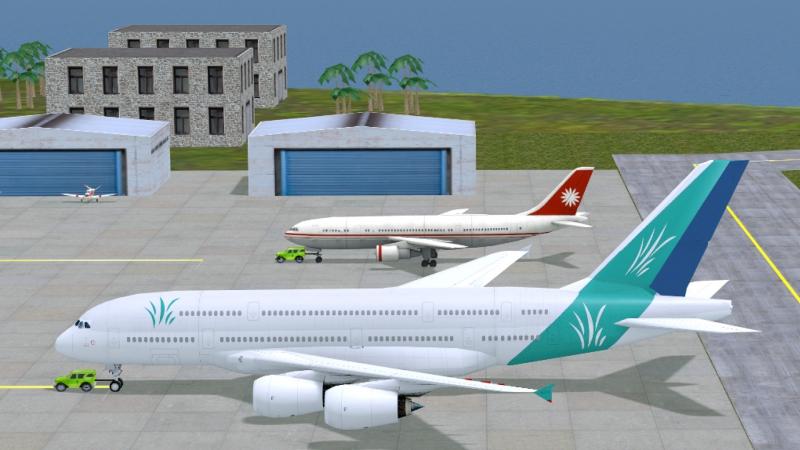 Pantallazo Airport Madness 3D