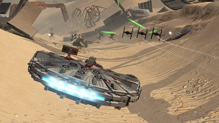 Pantallazo LEGO Star Wars: The Force Awakens
