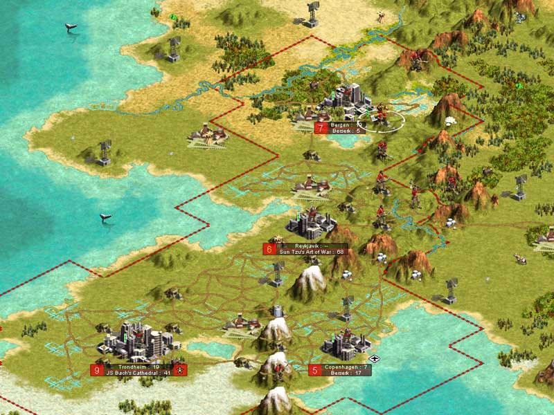 Pantallazo Civilization III