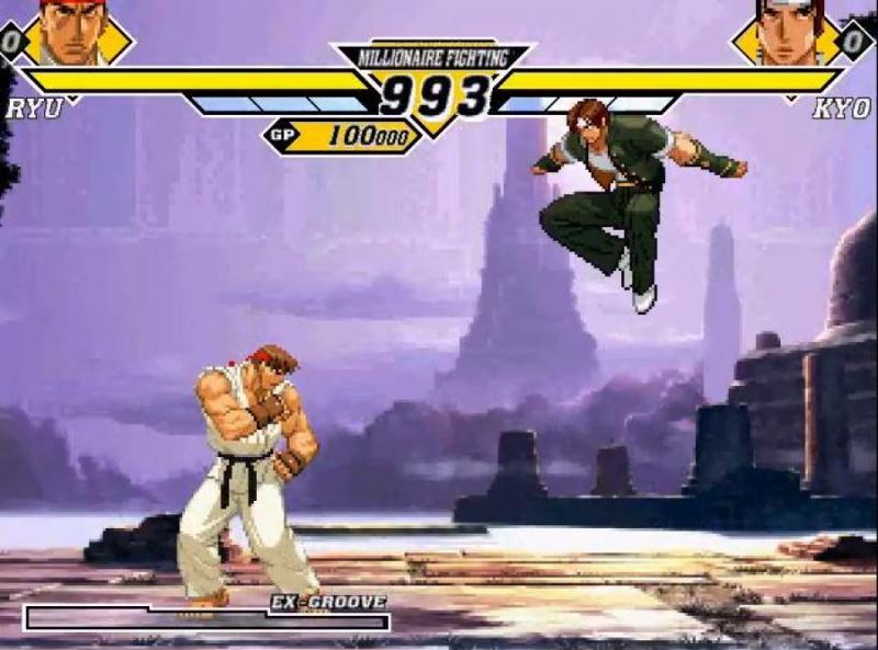 Pantallazo Capcom Vs SNK 2
