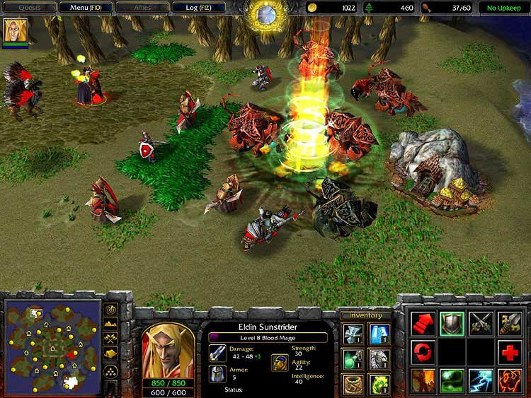Pantallazo Warcraft III: The Frozen Throne