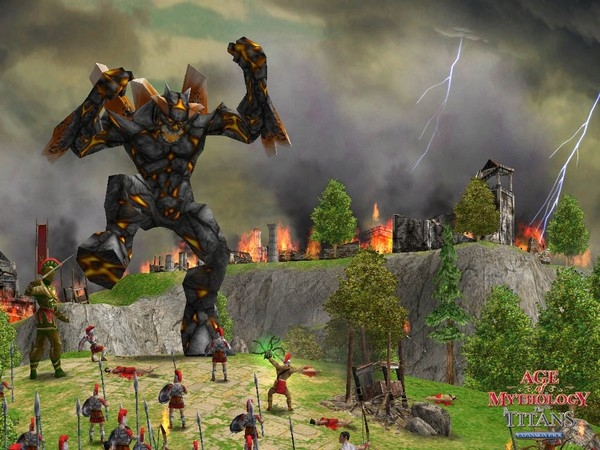 Pantallazo Age of Mythology: The Titans Expansion