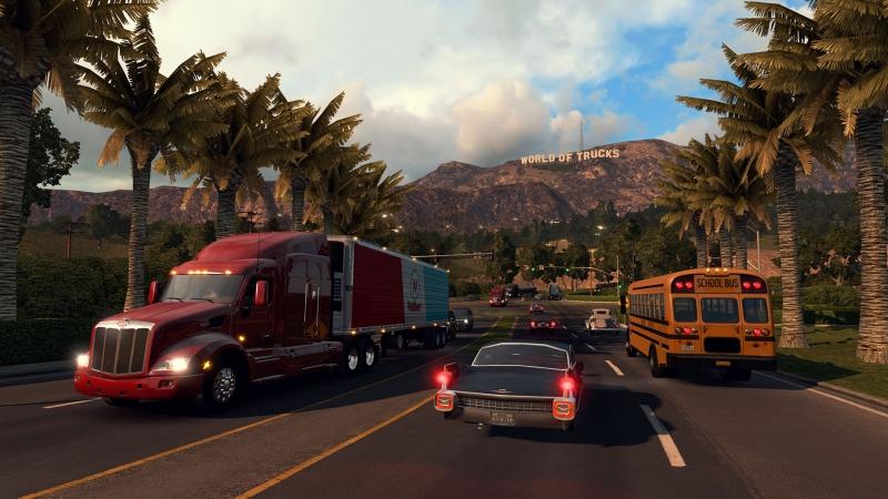 Pantallazo American Truck Simulator