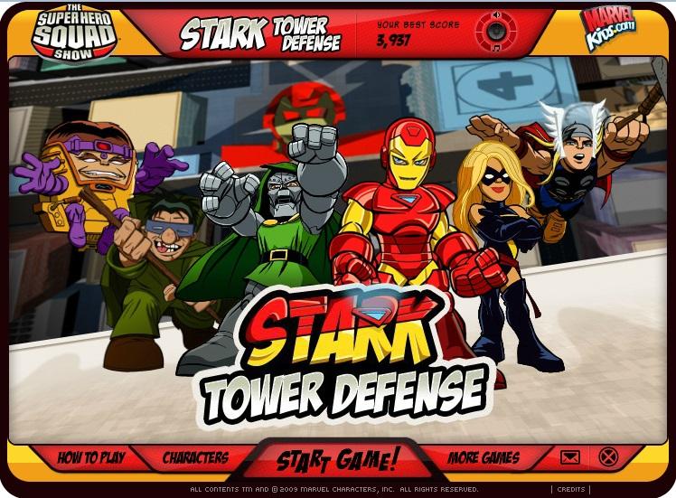 Pantallazo Stark Tower Defense
