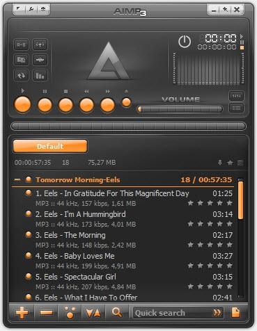 Pantallazo AIMP Audio Tools