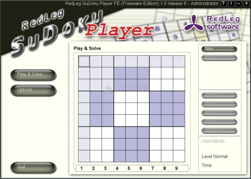 Pantallazo RedLeg Sudoku
