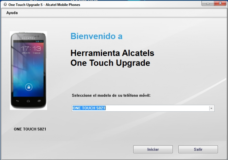 Alcatel One Touch Upgrade S скачать