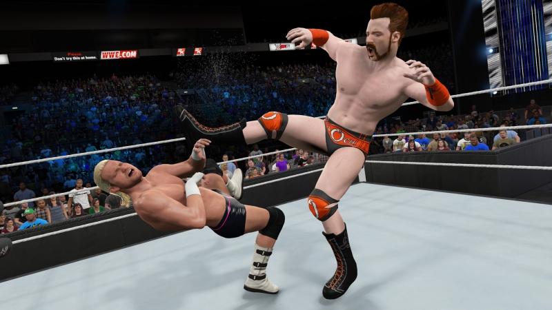 Pantallazo WWE 2K15