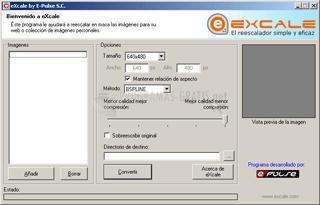Pantallazo eXcale