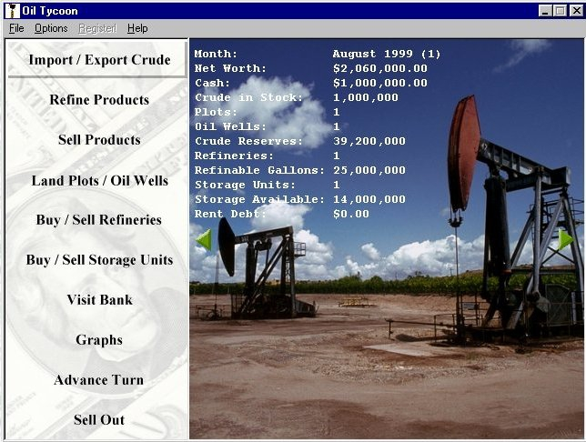 Pantallazo Oil Tycoon