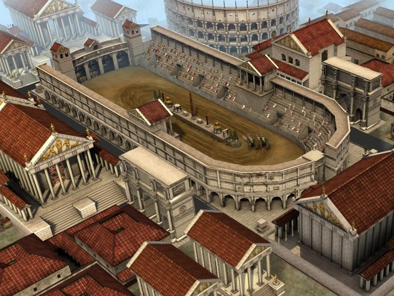 Pantallazo CivCity: Rome