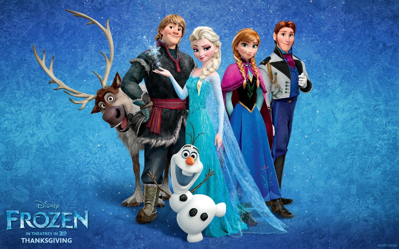 Pantallazo Frozen Theme