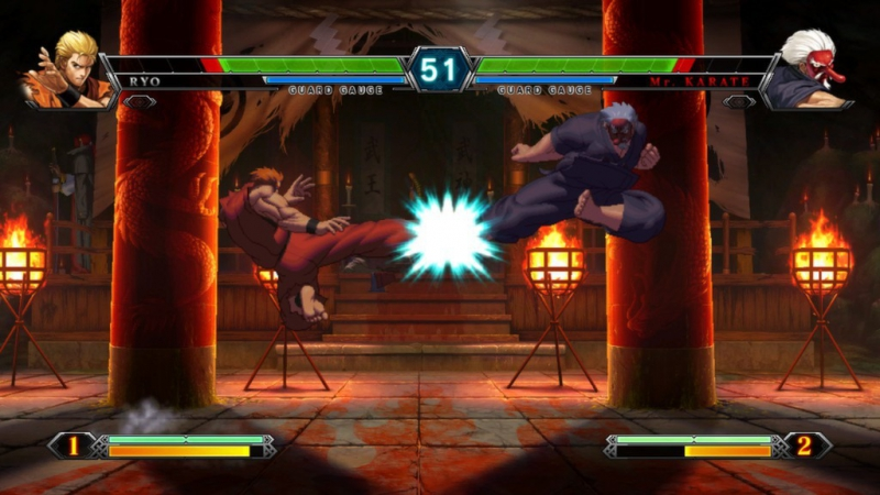 Pantallazo The King of Fighters XIII