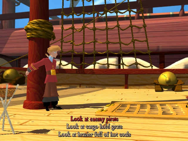Pantallazo Escape from Monkey Island