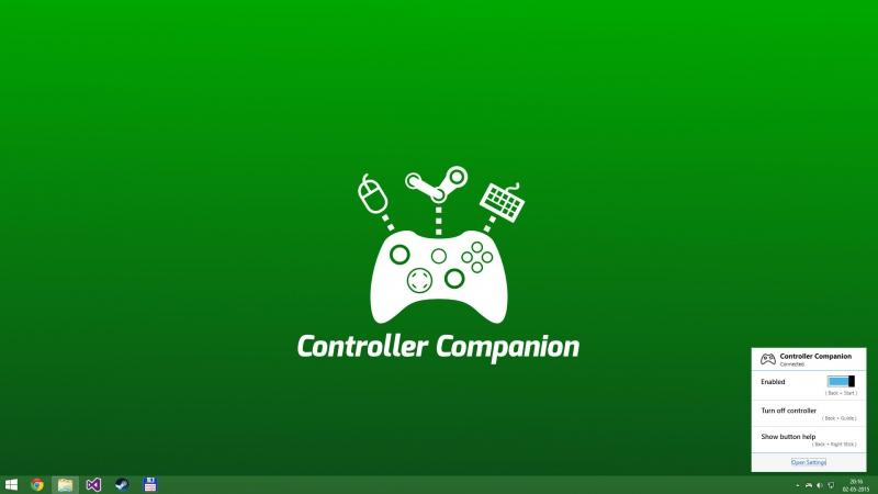 Pantallazo Controller Companion