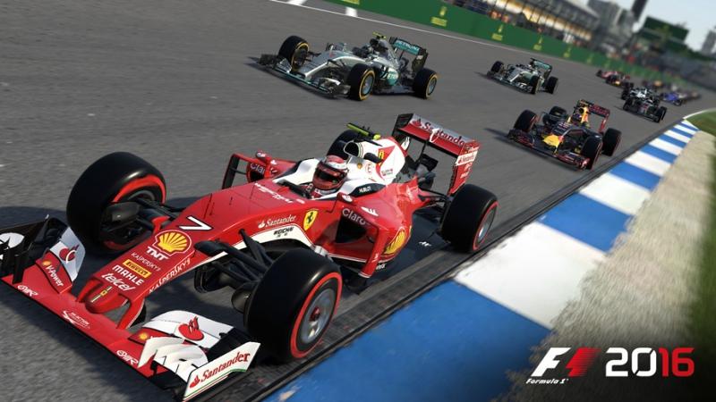 Pantallazo F1 2016