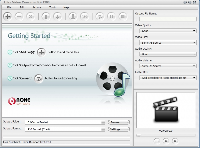 Pantallazo Ultra Video Converter