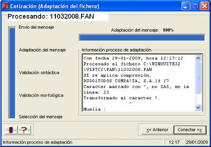 Pantallazo WinSuite32