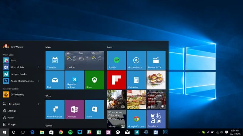 Pantallazo Windows 10