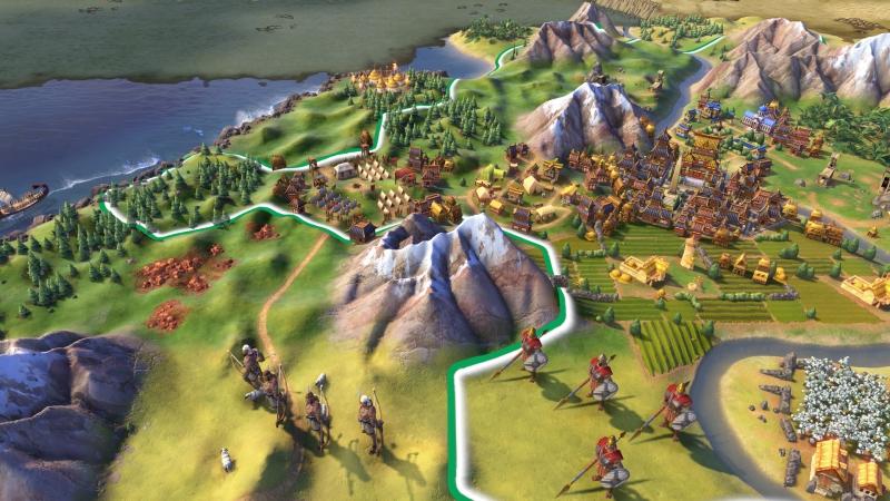 Pantallazo Civilization VI