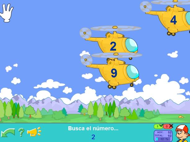 Pantallazo Helicópteros Pipo