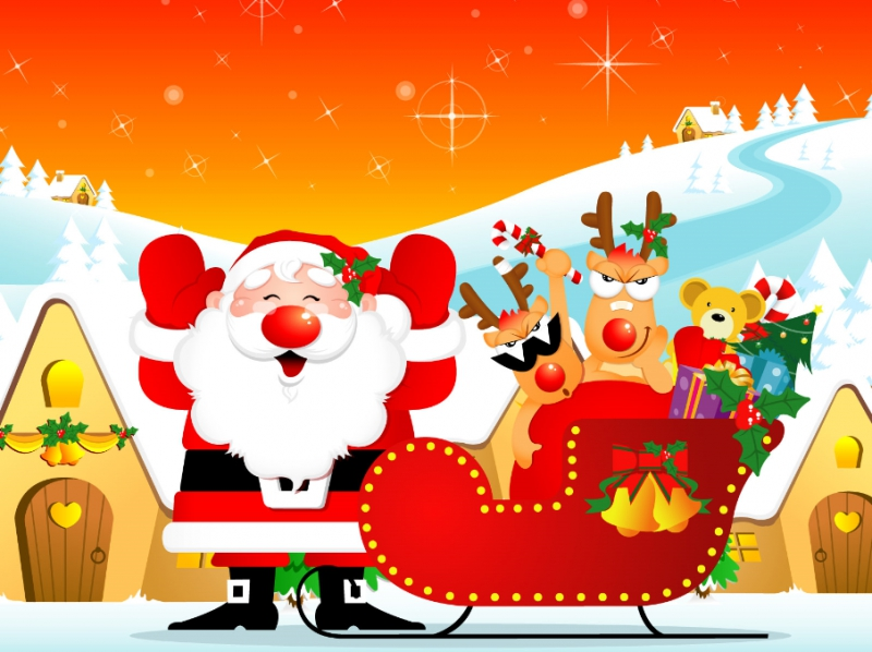 Pantallazo Christmas Windows 7 Theme