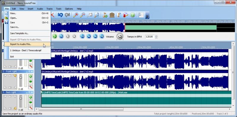 Pantallazo Nero SoundTrax