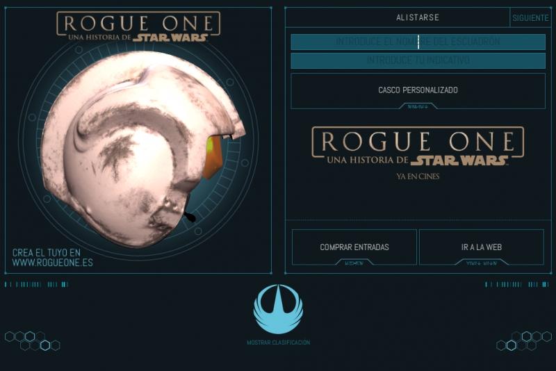 Pantallazo Rogue One: Creador de cascos