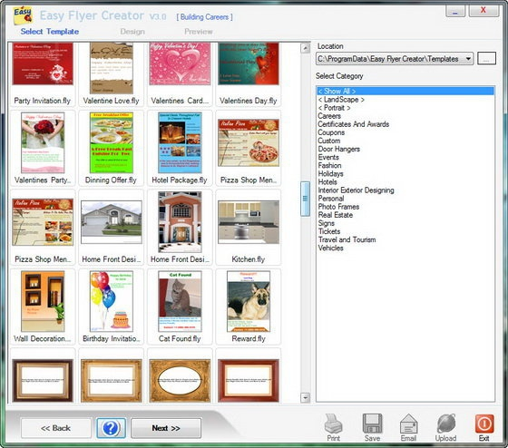 Descargar Easy Flyer Creator 4.1.0.0 Gratis Para Windows