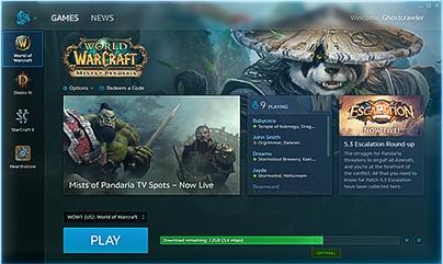 Pantallazo Battle.net Desktop