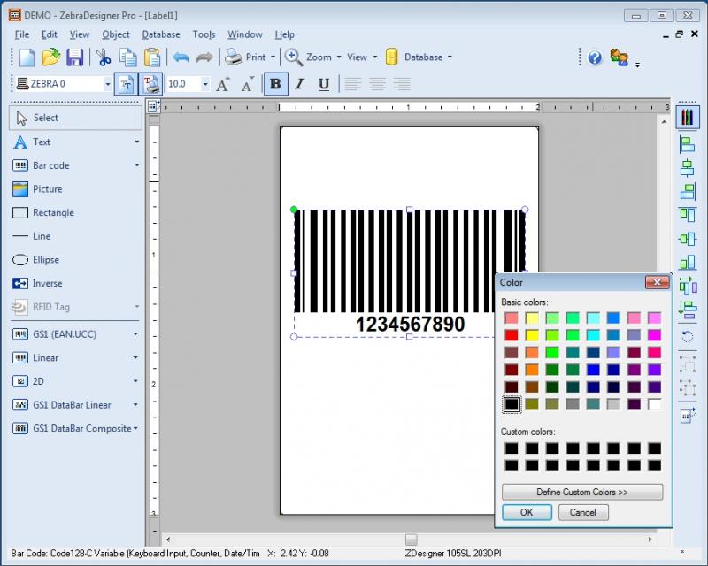Software Códigos de Barras Zebra Designer
