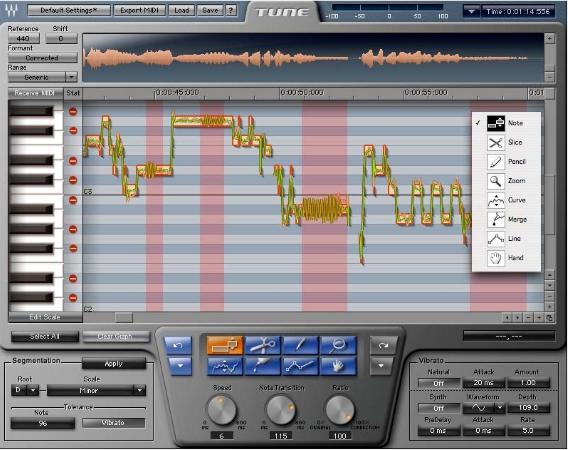 Pantallazo Waves Tune