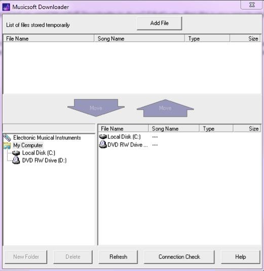 Pantallazo MusicSoft Downloader