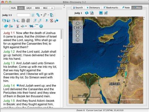 Pantallazo Bible Discovery